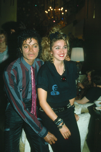 Michael_&_Madonna_1984