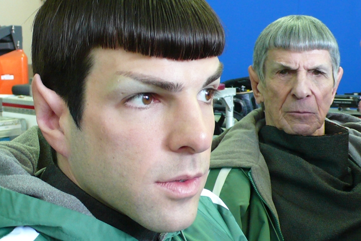 Leonard-Nimoy-Zachary-Quinto-Star-Trek-Mr-Spock