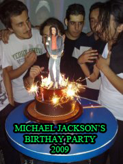 MICHAEL JACKSON'S BIRTHDAY PARTY 2009