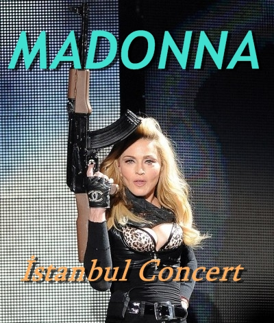Madonna 7 Haziran 2012 İstanbul Konseri