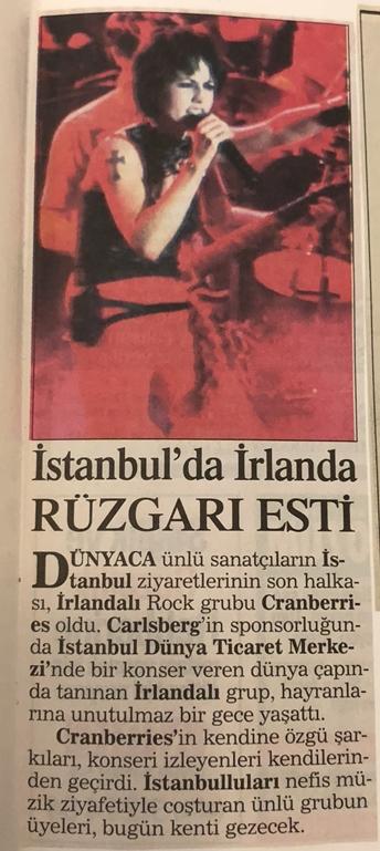 The-Cranberries-Istanbul-Konseri