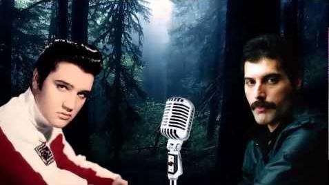 Freddie-Mercury-Elvis-Presley