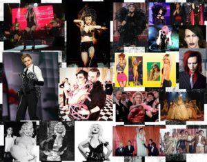 """HANDE YENER: Az önce de söylediğim gibi Madonna hala bayan sanatçılarımız tarafından taklit ediliyor, özellikle de Hande Yener tarafından… Sahne ve klip kostümleri ile aslında sadece Madonna'dan değil; Rihanna, Cher ve hatta Marilyn Manson'dan da ilham alıyor Hande… Hande Yener'le ilgili bir araştırma yaparken komik bir saptamaya rastladım. Hande Yener; özellikle Madonna'nın yıllarca kullandığı Marilyn Monroe imajını kopya etmiş. Hande Yener fanları da Christina Aguilera'nın aynı saç stiliyle sonradan çektirdiği fotoğrafı Hande Yener'in fotoğrafının yanına monte edip """"Christina Aguilera, Hande Yener'i taklit ediyor"""" diye paylaşmışlar. Halbuki ben isterlerse Christina Aguilera'nın Hande Yener'in o fotoğrafından yıllar önce çektirdiği yüzlerce Marilyn Monroe saçlı Xtina fotoğrafı bulabilirim. """"Acele Etme"""" klibinde de Kylie Minogue'un """"Spinning Around""""unu taklit eden Hande Yener'in son hiti """"Sebastian""""ın klibini tek başına ele aldığımızda bile o kadar çok Madonna esintisi çıkıyor ki… Madonna'nın MDNA turnesinde giydiği kostümü pembe yapıp giymiş. Ortam Madonna'nın MTV Video Müzik Ödülleri'nde sergilediği """"Vogue"""" performansındakine benziyor. Tıpkı """"Material Girl""""deki gibi smokinli erkekler Hande Yener'in etrafında pervane olmuş falan. Danslar da yer yer Madonna, yer yer Michael Jackson tarzı… Ama Michael Jackson dansı konusuna girmeyeceğim, çünkü girersem tek başına bir yazı konusu olur. Çünkü hem yurt dışında, hem de ülkemizde dans eden herkesin taklit ettiği bir isim… Sadece sanatçıların kendileri değil; dansçıları da MJ dansları yapıyor kliplerde… Hatta direk moonwalk yapanlar bile var."""