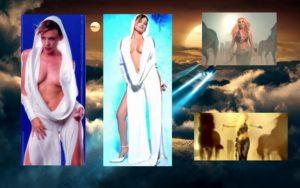 """HİLAL CEBECİ: Ne zaman taklit kliplerden konu açılsa akla ilk gelen kliplerden birisi Hilal Cebeci'nin """"İpe İpe Geleceksin"""" klibi olur. Çünkü klipte hem kostüm, hem de görsel efektler açısından Kylie Minogue'un """"Can't Get You Out Of My Head"""" ve Shakira'nın """"Whenever, Wherever"""" klibini kopya etmiştir Cebeci… Ben bu klibe taklit ya da arak demek istemiyorum. Çünkü bu klip bir parodidir. Yani fark edileceği bile bile yapılmıştır. Yasemin Yalçın ya da Grup Vitamin'in yaptığı parodi kliplerden farklı görmüyorum bu klibi… Yoksa halkı enayi yerine koymuş olursunuz. Hazır konu Hilal Cebeci'den açılmışken bir canlı performans anımdan daha bahsetmek istiyorum. 11 Aralık 1999 tarihinde Bil Dershanesi öğrencisiydim ve dershane olarak Erkan Yolaç Show'a gitmiştik. Bir otobüsü doldurmuştuk stüdyoya giderken… Bizim sınıftan bir tek ben ve Müslüm diye bir arkadaş vardı. Yolaç'ın konukları ise Hilal Cebeci, İsmail Türüt ve Pınar Altınok'tu. Bir popçu ya da rockçı çıkar diye çok ümitlenmiştim. Ama türkücü, TSM'ci ve arabeskçi çıkınca hayal kırıklığına uğramıştım. Uzun saçlarımla en önde oturuyordum ve somurtuyordum o yüzden… Zaten sonra şık giyimlileri en öne aldılar, ben de ikinci ya da üçüncü sıraya geçmiştim. Yok dünya izliyormuş, yok bilmemneymiş diye… Ben de o zamanlar rockçı tipindeydim tabii ki… Pantolonda zincirler, uzamış saçlar, parmaklarda bir sürü yüzük falan… İsmail Türüt kötü espriler yapıp sadece kendisi gülüyordu. Altınok'un uzun alaturka konseri baymıştı. Benim müzik zevkimi artık biliyorsunuz herhalde ve o yüzden nasıl eğlendiğimi (!) de tahmin ediyorsunuzdur. Bir tek """"Evet, Hayır"""" yarışması beni mutlu etmişti. 80'ler nostaljisi yaşamıştım ama beni kaldırır diye de çok korkmuştum. Allahtan kaldırmamıştı, çünkü o zamanlar bugünkü gibi medeni cesaretim yoktu. Çok utangaçtım ve büyük ihtimalle de rezil olurdum ama bugün olsa rahatlıkla parmak kaldırırdım. Parmak kaldırmayanları kaldırıyordu genelde ve ben de parmak kaldırmıyordum. Ödüm kopmuştu valla. Ama zaten gravatl"""
