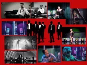 """MURAT BOZ: Murat Boz'un """"Janti"""" klibinde Justin Timberlake'in """"Suit & Tie"""" klibinden esinlendiğini sanırım anlamayan kalmamıştır. İkisi de siyah beyaz çekildi üstelik... Fakat ben daha da eskilere gitmek istiyorum. Benim asıl dikkati çekmeye çalıştığım klip """"Aşkı Bulamam Ben"""" olacak. Murat Boz klipte bir sahnede dans ediyor ve kızlar da camekanlardan ona bakıyor. Hafif stipriz de yapıyor. Bu benim aklıma Madonna'nın """"Open Your Heart"""" klibini getiriyor. Tek fark camekanlardan erkeklerin bakması, sahnede hafif soyunanın ise bayan şarkıcı olması..."""