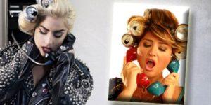 """İşte galerinin sonuna geldik sayın okuyucularım... İlk galeriyi """"Hep biz mi onları taklit edeceğiz? Onlar da bizim şarkıcılarımızı taklit edebilirler"""" esprisiyle Ajdar ve Rihanna ile sonlandırmıştım. Yine esprili bir challenge ile bitirmek istedim. Ama bu kez gerçek bir taklit bile olabilir. Lady Gaga'nın 'Telephone' klibinde kola kutularına sarılı saçlarıyla telefonla konuşma sahnesini zaten daha önce Sibel Can 'Çantada Keklik' klibiyle çekmişti. Ayrıca Lady Gaga'nın """"Judas"""" klibindeki dans sahnelerini Hadise'nin Eurovision'daki """"Düm Tek Tek"""" performansına benzettiğimi de eklemeliyim. Özellikle de kırmızı dansöz kostümüyle... Gelecek yazımda görüşmek üzere…   NOT: 19.03.2019 tarihinde yazdığım bu yazım ilk olarak 26.03.2019 tarihinde http://www.sadecemuzik.net/Turgay-Suat-Tarcan/taklit-tuerk-klipleri-ve-albuem-kapaklar-2-boeluem.html adresinde yayınlanmıştır."""